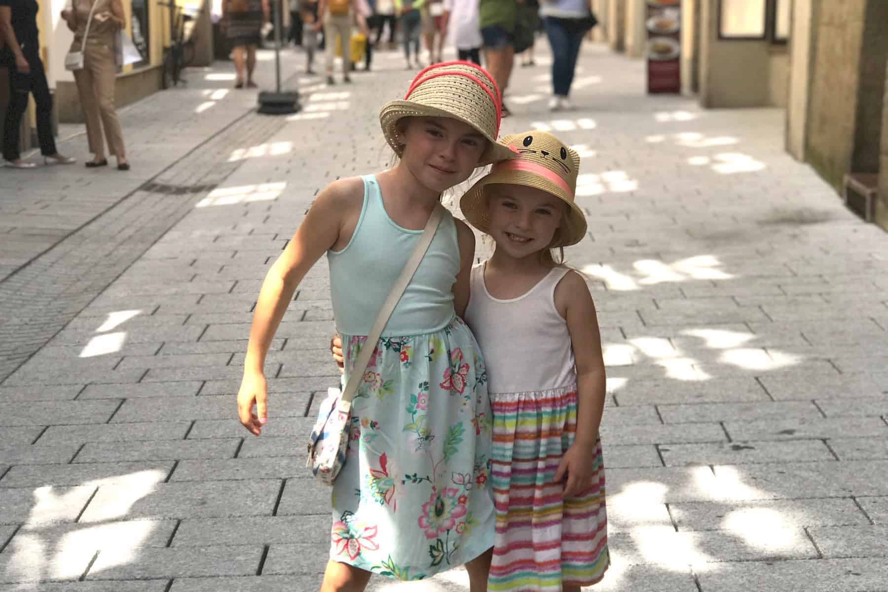 Strolling the streets of Salzburg