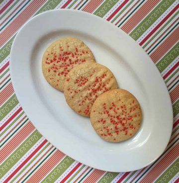 Classic Butter Cookies