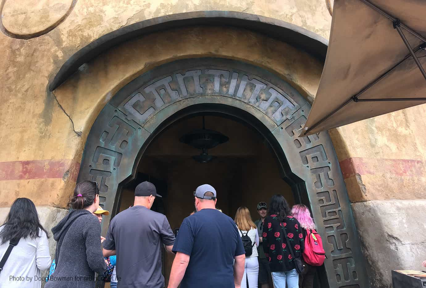 Entrance to Oga's Cantina
