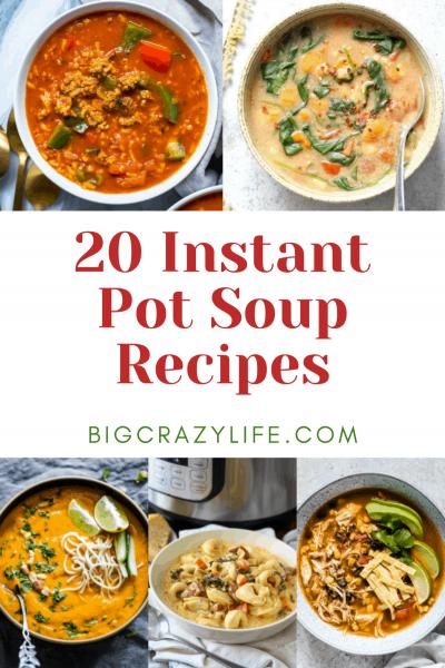 Intant pot soup