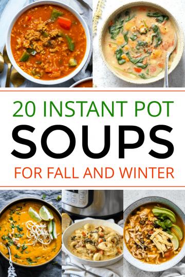 Intant pot soups