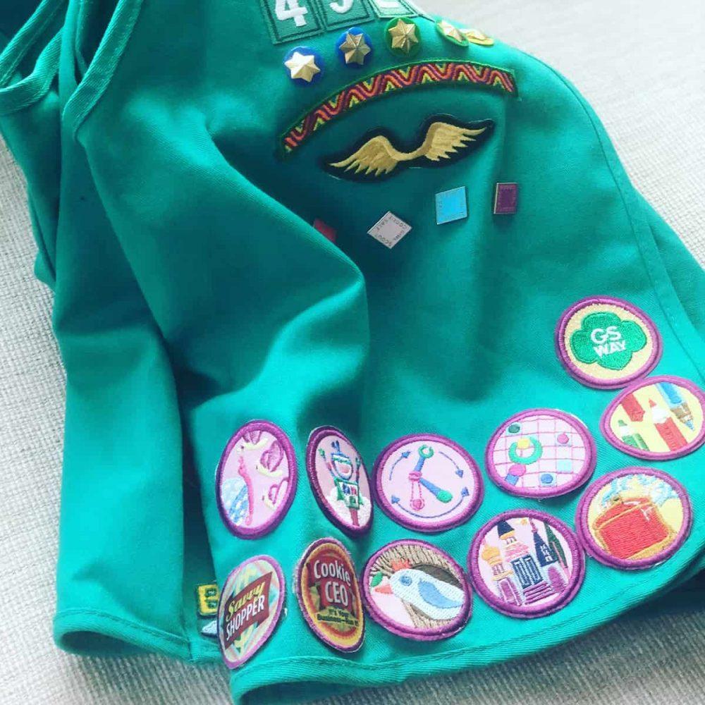 Girl Scout Junior Vest