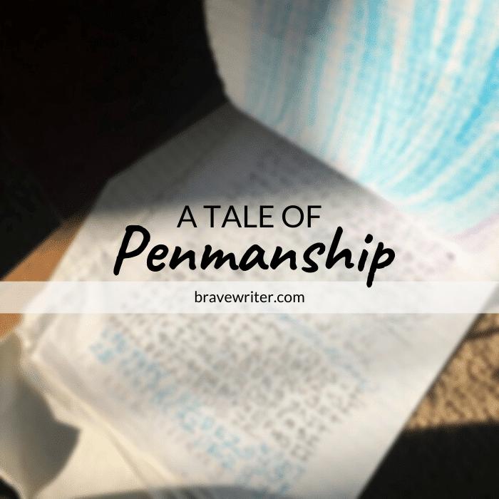 penmanship text